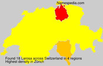 Familiennamen Larosa - Switzerland