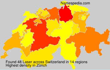 Surname Laser in Switzerland