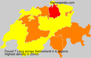 Familiennamen Laug - Switzerland