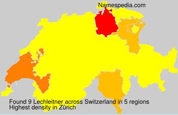 Familiennamen Lechleitner - Switzerland