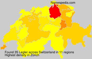 Familiennamen Legler - Switzerland