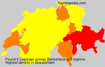 Surname Leipziger in Switzerland