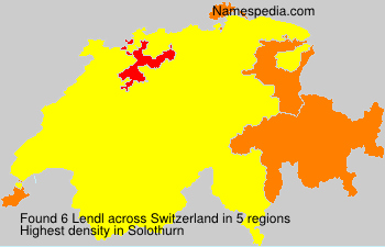 Surname Lendl in Switzerland
