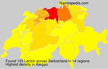 Familiennamen Lenzin - Switzerland