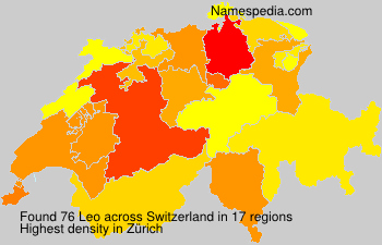 Surname Leo in Switzerland