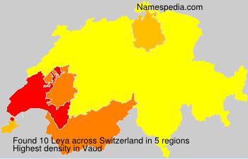 Surname Leya in Switzerland