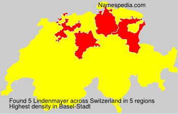 Familiennamen Lindenmayer - Switzerland