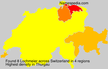 Surname Lochmeier in Switzerland