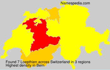 Familiennamen Loepthien - Switzerland