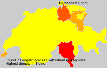 Surname Longato in Switzerland