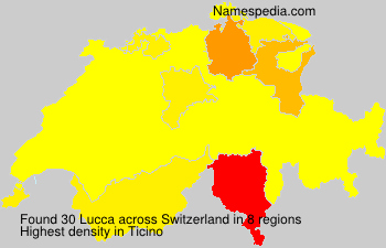 Surname Lucca in Switzerland