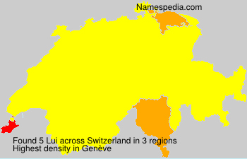 Surname Lui in Switzerland