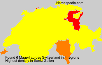 Surname Magerl in Switzerland