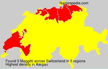 Familiennamen Maggitti - Switzerland