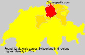Familiennamen Maiwald - Switzerland