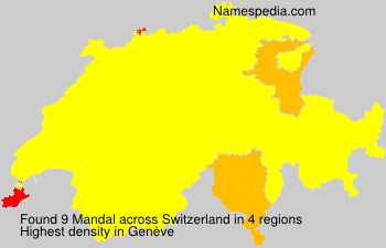 Surname Mandal in Switzerland