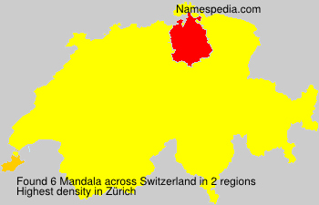 Surname Mandala in Switzerland