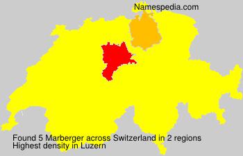Familiennamen Marberger - Switzerland