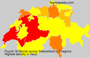 Familiennamen Marcel - Switzerland