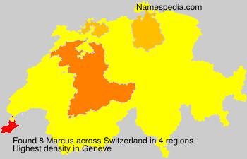 Familiennamen Marcus - Switzerland