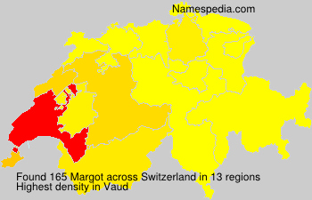 Surname Margot in Switzerland
