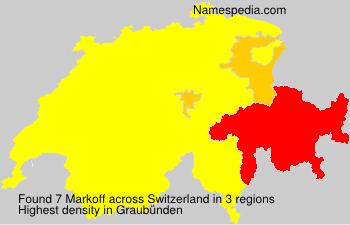 Familiennamen Markoff - Switzerland