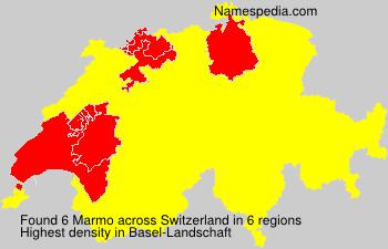 Surname Marmo in Switzerland