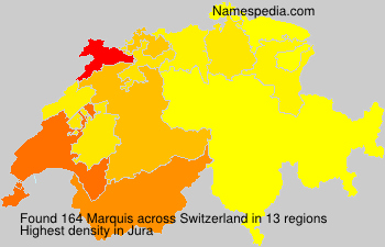 Familiennamen Marquis - Switzerland