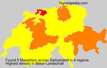 Familiennamen Mastellaro - Switzerland