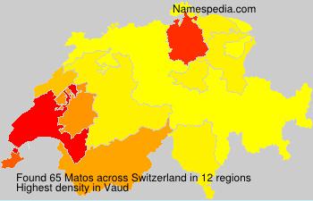 Surname Matos in Switzerland