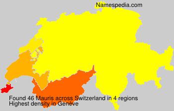 Familiennamen Mauris - Switzerland