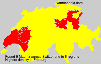 Surname Mauritz in Switzerland