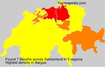 Mauthe