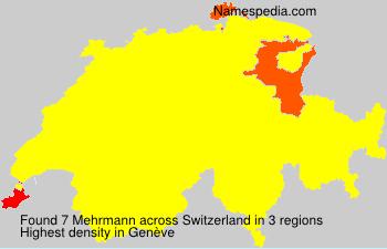 Surname Mehrmann in Switzerland
