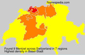 Familiennamen Mentzel - Switzerland