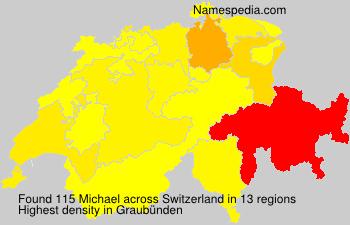 Surname Michael in Switzerland