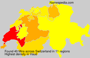 Surname Mira in Switzerland