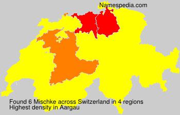 Surname Mischke in Switzerland