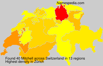 Surname Mitchell in Switzerland
