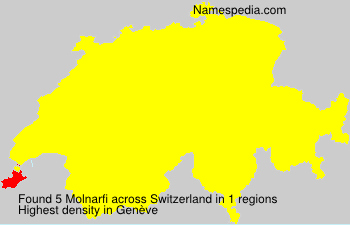 Surname Molnarfi in Switzerland