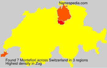 Familiennamen Montefiori - Switzerland