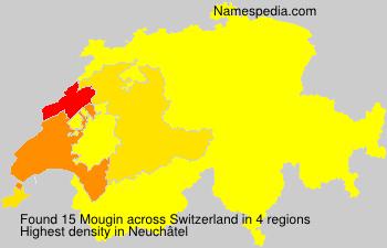 Surname Mougin in Switzerland