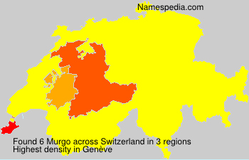 Surname Murgo in Switzerland