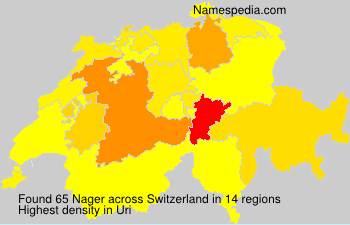 Surname Nager in Switzerland