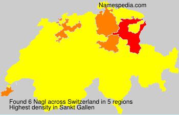Surname Nagl in Switzerland