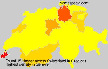 Familiennamen Nasser - Switzerland