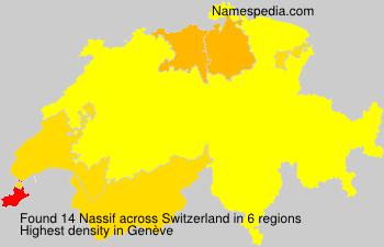 Surname Nassif in Switzerland