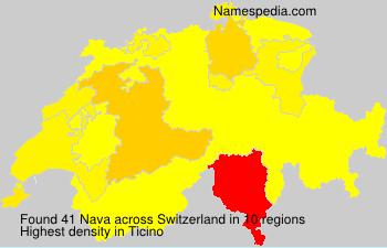 Surname Nava in Switzerland