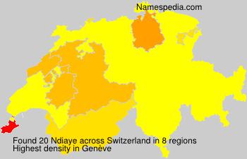 Familiennamen Ndiaye - Switzerland