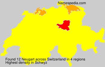 Surname Neugart in Switzerland
